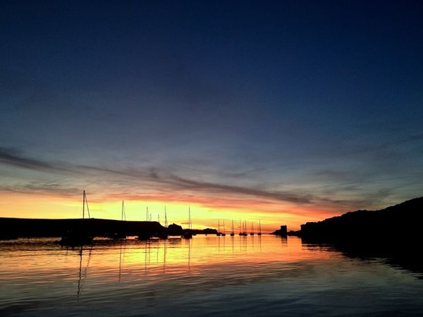 Sunset-tresco-channel